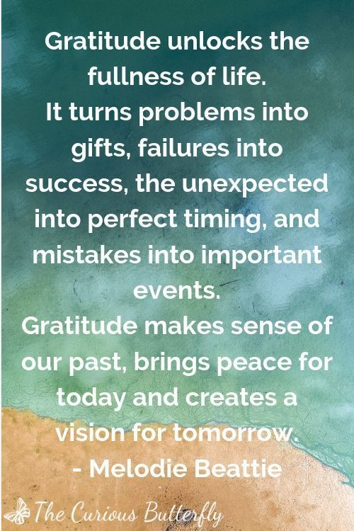 Intentionally focus on your blessings with these 11 gratitude quotes. Click through to get inspired and receive free printables of all 11 quotes now! #gratitude #gratitudequotes #curiousbutterfly