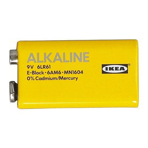 IKEA - ALKALISK, Batterie alkalisch