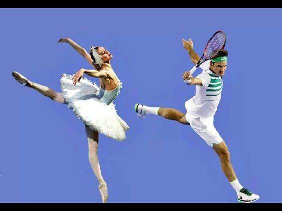 Roger Federer, la grâce et l'élégance: