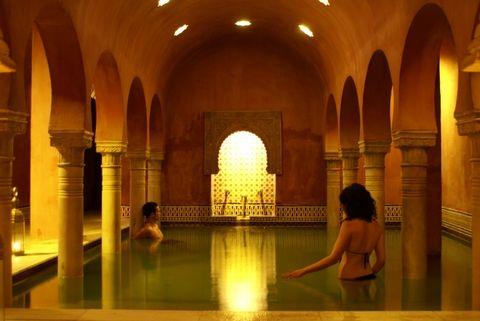 Que hacer en Granada: Baño en Hammam Al Andalus