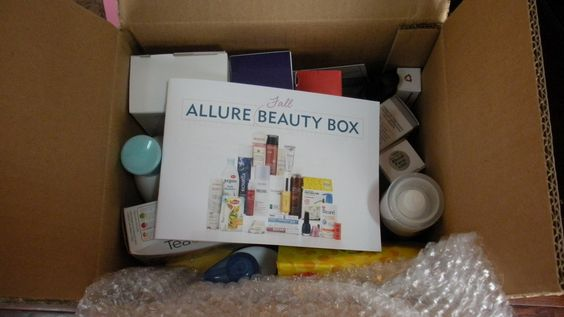 Allure Beauty Box for Sale   2013