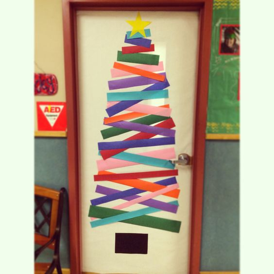 School Door Decoration! Easy Peasy!
