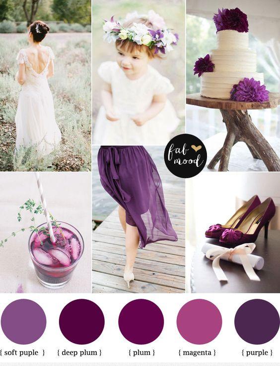 Plum Purple Wedding