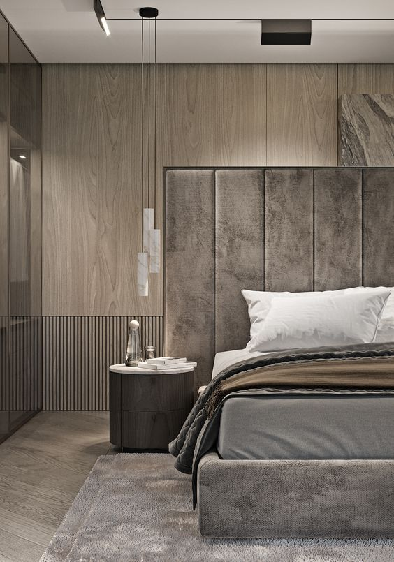 hoofdbord bed bekleden met velvet