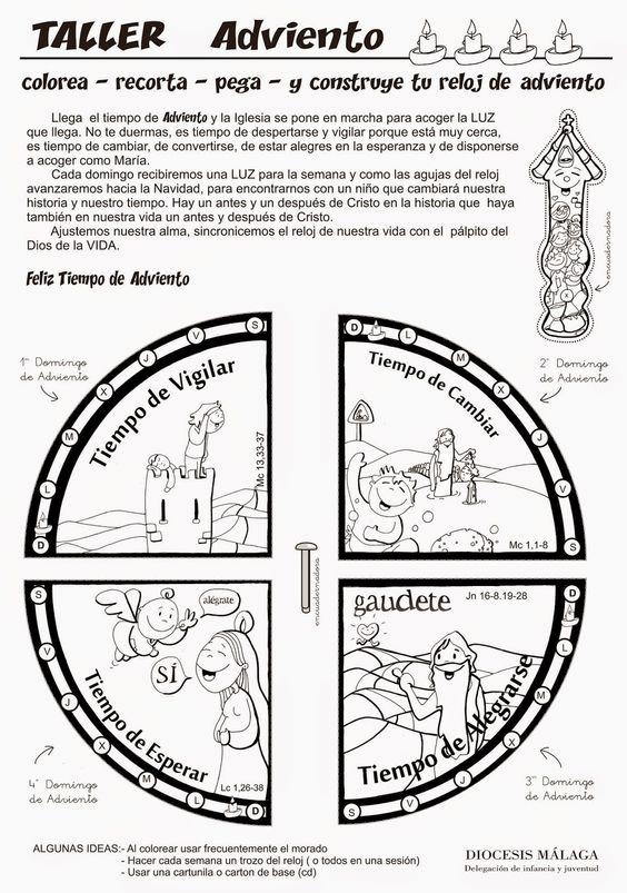 Sencilla explicación de la Corona de Adviento | catequesis ...