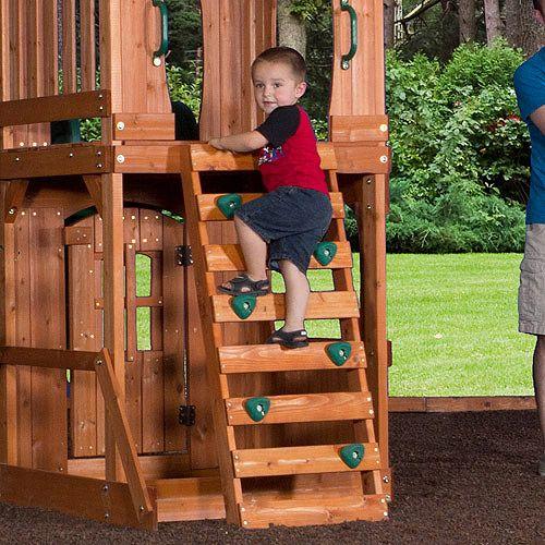 Backyard Discovery Sonora Cedar Wood Swing Set | For Where We Live |  Pinterest | Wood Swing Sets, Wood Swing And Cedar Wood