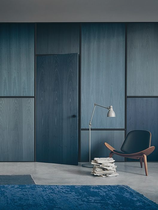 Wall panelling hidden doors and panelling on pinterest - Residential interior wall panel systems ...