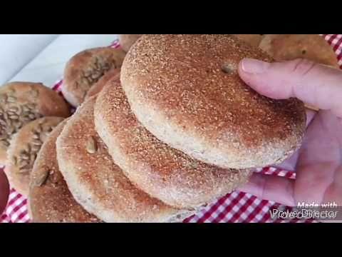 خبيزات ميني بالخميرة البلدية بدقيق الكامل ماتشبعوش منوم و بكمية وفييييرة رمضان 25 4 2020 Youtube Food Hamburger Bun Breakfast
