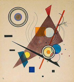 Komposition 1923 Ii Von Wassily Kandinsky Kunstdruck Bildergipfel De Kandinsky Wassily Kandinsky Kunst