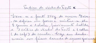 Pudim de Vinho do Porto