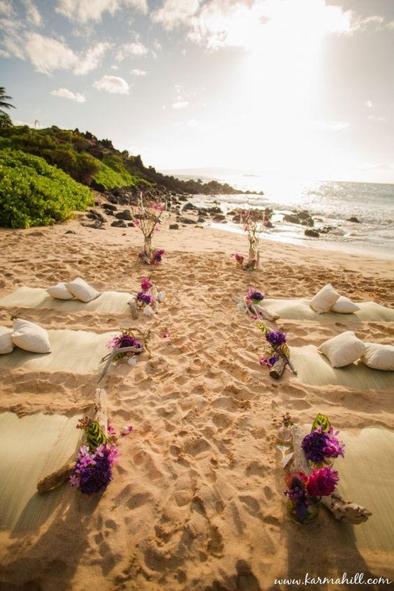 Vivian & Brandon's Styled Maui Wedding - by Maui Wedding Photographer Karma Hill - Karma Hill Photography