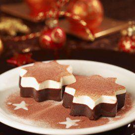 Gelatinas de Chocolate y Crema