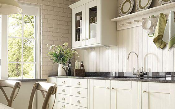 Somerset Bone White Kitchen