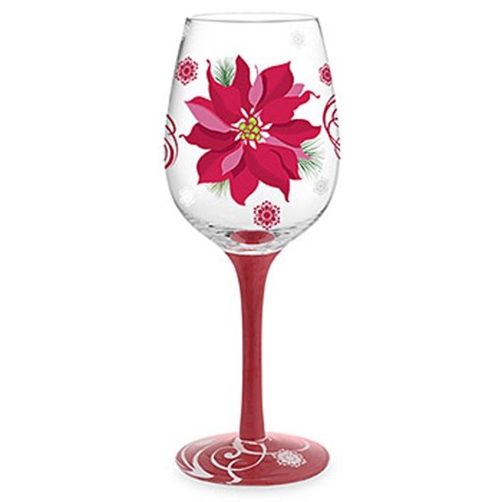 Templates for painting wine glasses christmas hand for Holiday stemware
