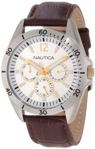 Nautica Men's N12632G NAC 101 Classic Analog Watch