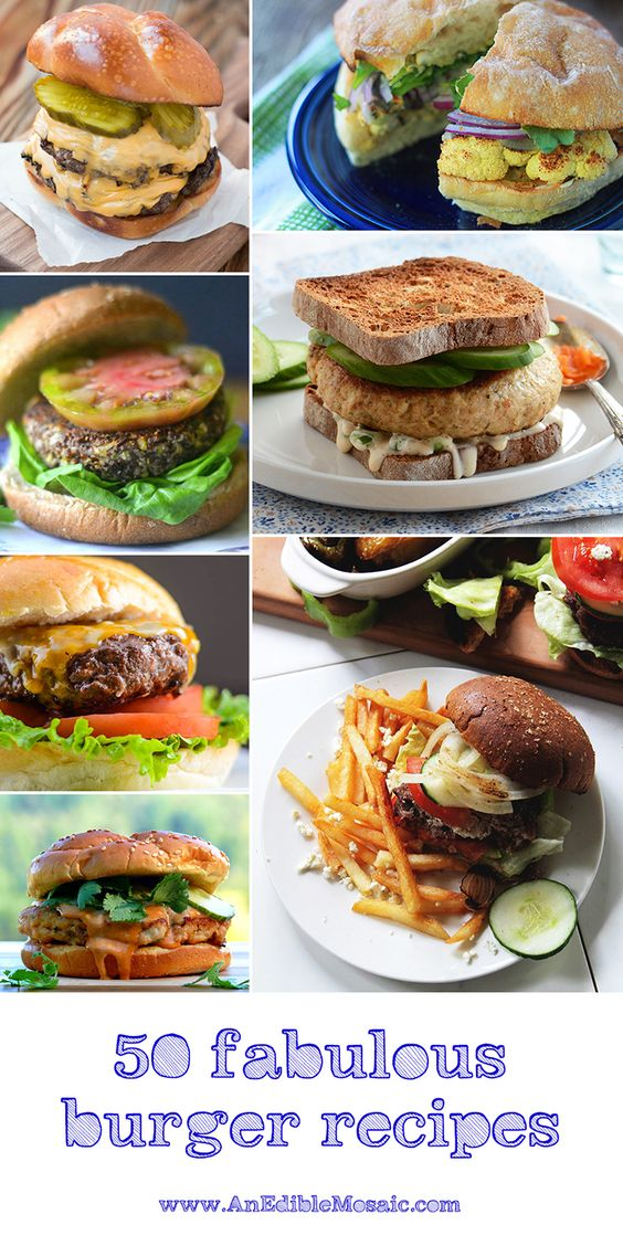 fourth of july burger recipes