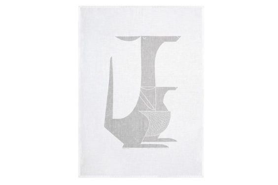 Kangaroo linen tea towel by I Ended Up Here