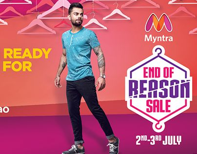 "Check out new work on my @Behance portfolio: ""Myntra - EORS'16""…"