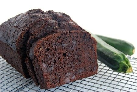 Double Chocolate Zucchini bread...the only way I will eat zucchini-a childhood favorite
