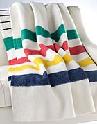No self-respecting Canadian is without one (or more) of these classic Hudson's Bay blankets!