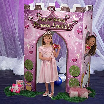 All your little princesses will love playing in this cardboard Princess castle!