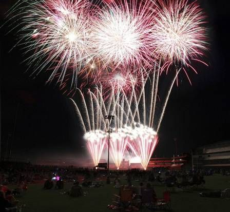 Don't know where or how to celebrate the Fourth of July? Check out these great places for fireworks!