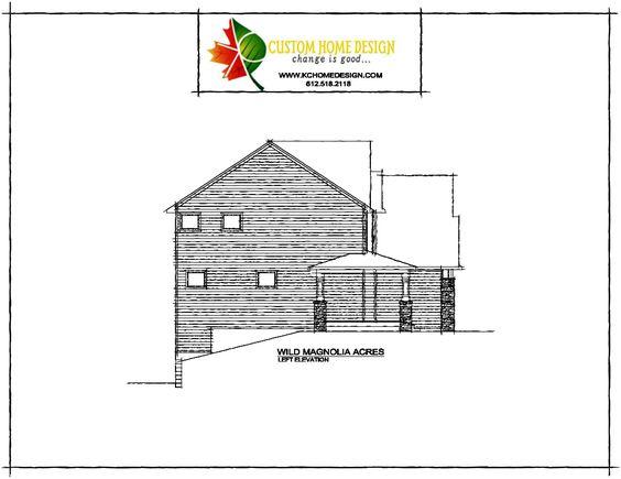 Wild Magnolia Acres Left Elevation #KCHomeDesign #NewConstruction #CustomDesign #Architecture #ArtisanHome #Artisan #DreamBig #Design #ArtisanDesign