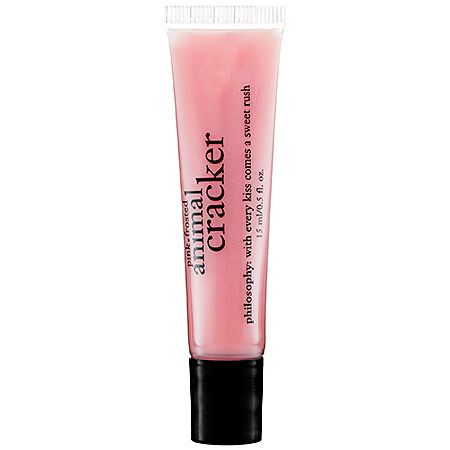animal cracker flavour lip gloss. Yes please!