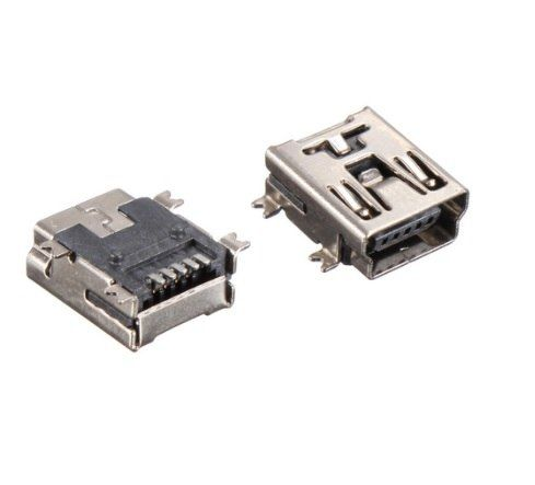 Universe Of Goods Buy 1000pcstape Reel Mini Usb Connector 2 0 B F 5 Pin Receptacle Female Right Angle Smd Smt Mount Cool Things To Buy Usb Material Board
