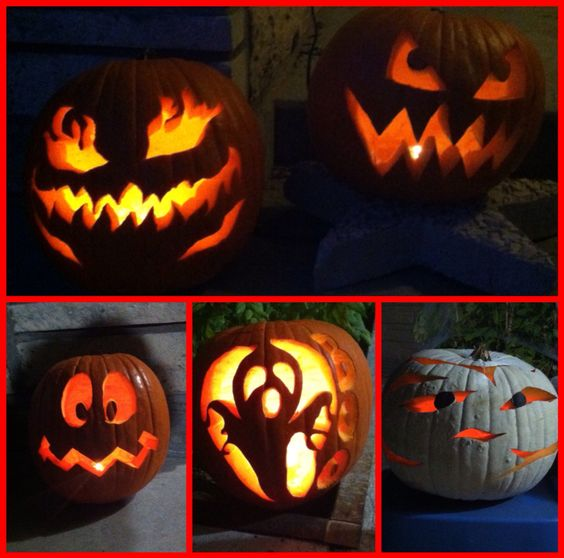Halloween time! Get your pumpkin carving tools out and your creativity on!