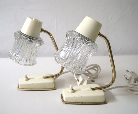Tischlampen 50er Jahre von mele-pele auf DaWanda.com