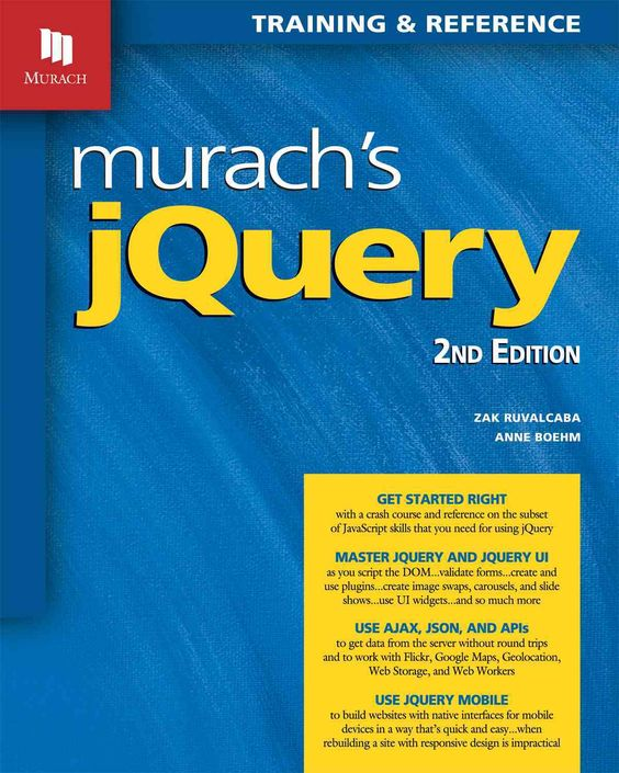 Murach's Jquery: Training and Reference
