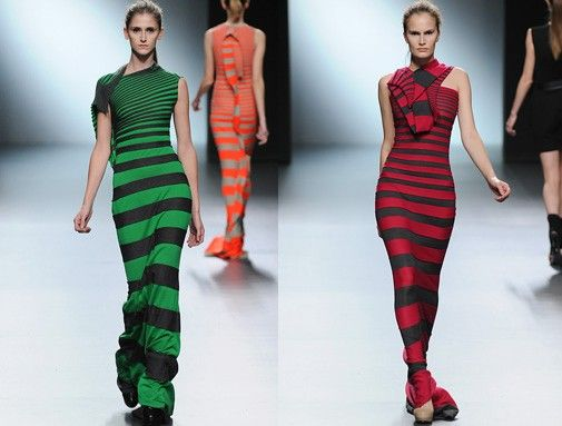 Rhythm in fashion design cibeles madrid fashion week