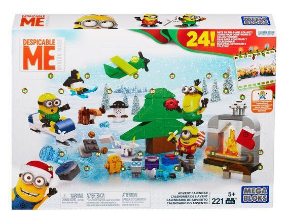 Mattel Mega Bloks CPC57 - Minions Adventskalender: Amazon.de: Spielzeug