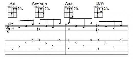 Rock Guitar Lessons How To Play Stairway To Heaven Spinditty Guitar Lessons Stairway To Heaven Guitar Chords