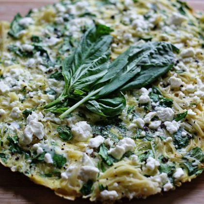 ... 16 Recipes for Fresh Basil Spinach Lemon Spaghetti Frittata with Feta