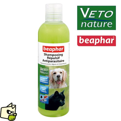shampooing INSECTIFUGE Véto nature BEAPHAR chien chat