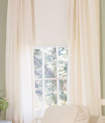 Unbleached Muslin Curtains Love Beautiful Home Things