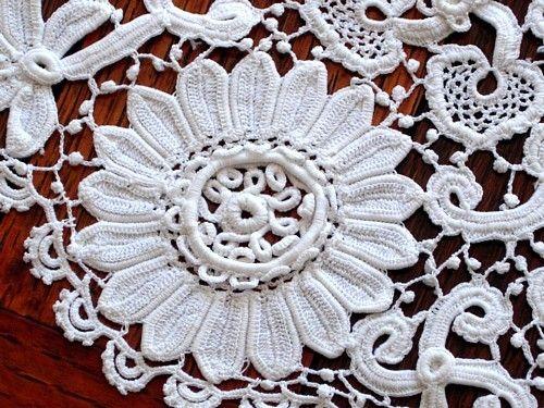 History Of Irish Crochet Lesson 1 Mypicot Free Crochet