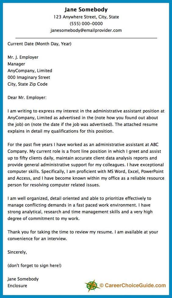 Cover letter for hr generalist. Marketing Cover Letter Example is a ...