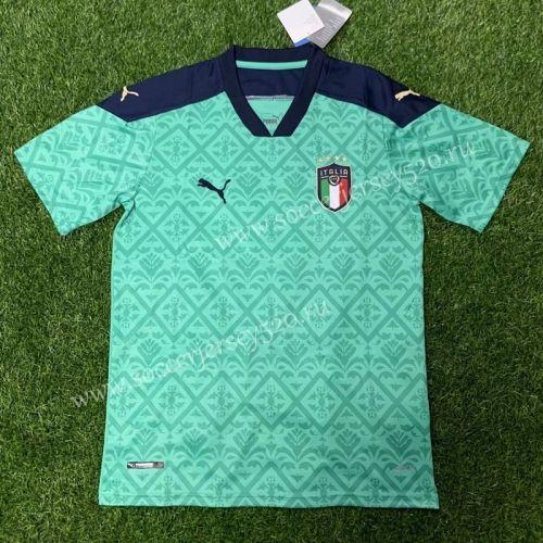 2020 2021 Italy Goalkeeper Green Thailand Soccer Jersey Aaa 407 In 2020 Soccer Jersey Goalkeeper Soccer