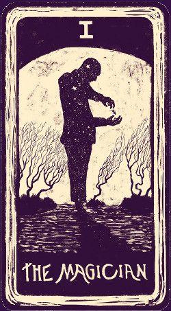 I - El Mago - Tarot Visiones de Luz #mago #tarot #carta #lightvisions #luz