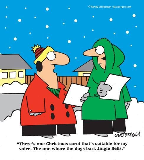 Jingle Bells Joke Ready To Play Christmas Carols Before It S Too Late Http Www Virtualsheetmusic Com C Christmas Cartoons Christmas Comics Christmas Humor