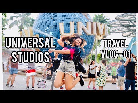 Universal Studios Travel Vlog 01 Shanudrie Priyasad Youtube Travel Vlog Universal Studios Universal Travel