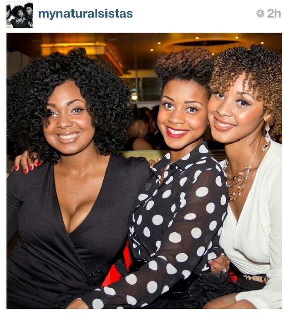 Please follow this sisters! Love their hair and style!