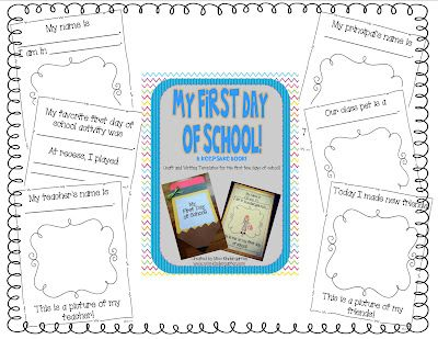 Wonderful idea to do on the first day of school, so you can learn more about your students in this fun and engaging activity. 5491.