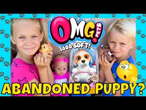 Baby Born Twins Rescue Adorable Puppies Little Live Pets New Omg Pets Unboxing Youtube Little Live Pets Pets Cute Puppies