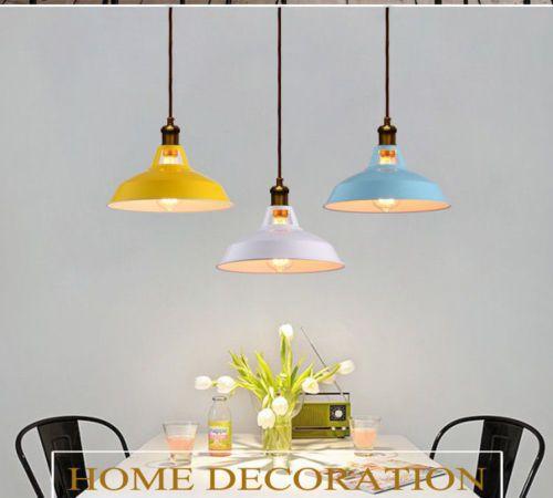 Industrial Loft Vintage Pendant Lamp Kitchen Bar Hanging Ceiling Light Uk Stock Hanging Ceiling Lights Ceiling Lights Uk Ceiling Lights