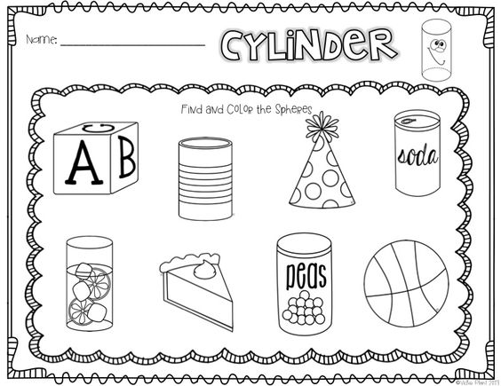 Printables 3d Shapes Worksheets For Kindergarten shape 3d shapes and on pinterest you better up shapes