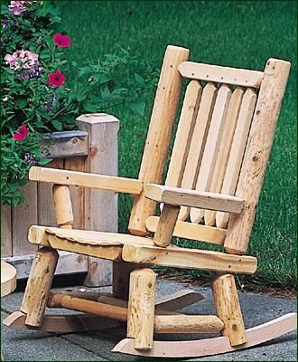 "Child's Boothbay Rocker -  11"" W, 13"" D seat, 11"" from floor to seat. Shipped kit."